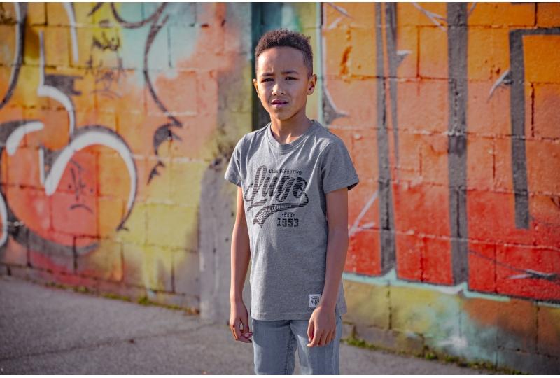 Camiseta Gris Lugo Niño
